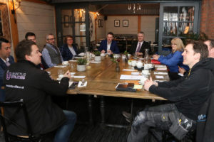 B2B breakfast at the Fig & Olive